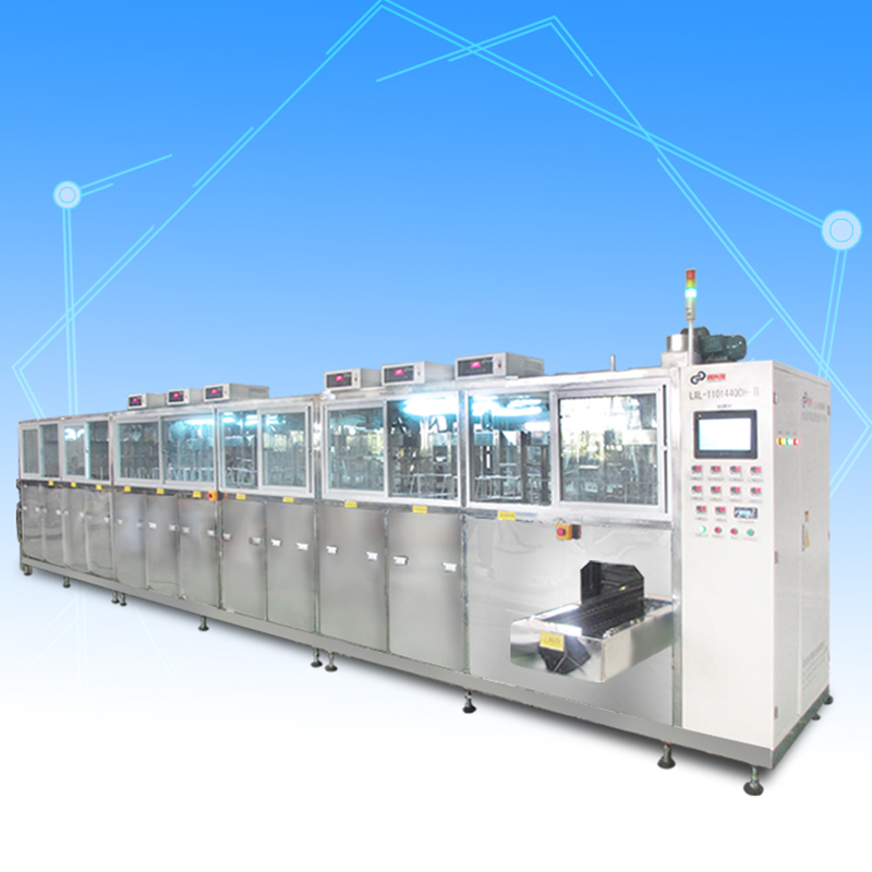 Automatic optical component cleaning machine