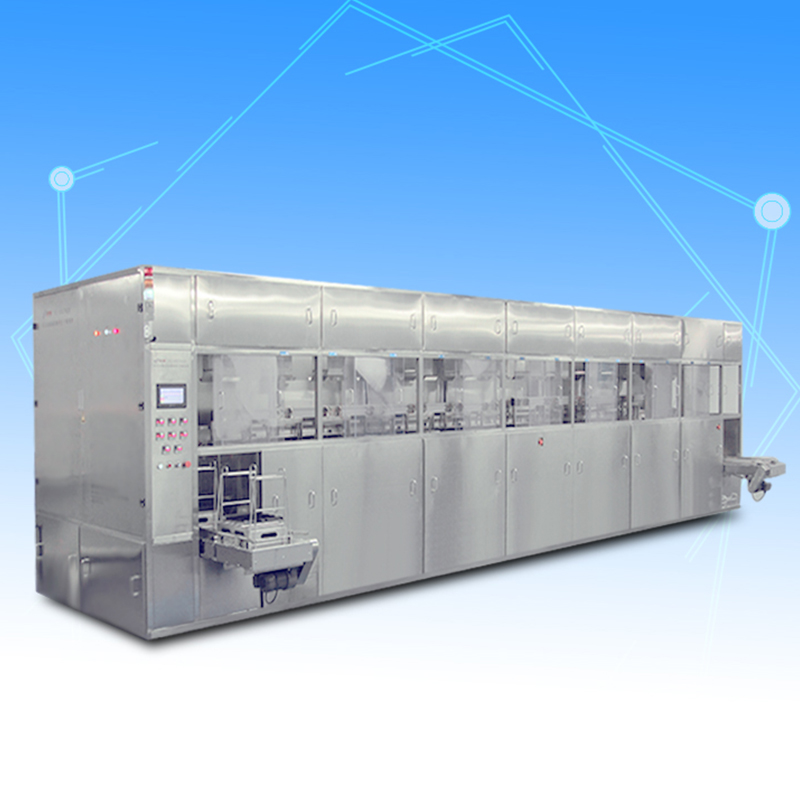 Automatic touch screen glass ultrasonic cleaning machine